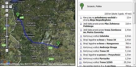 Tutorial Google Maps Api Wyznaczanie Punktow Z Trasy Przejazdu